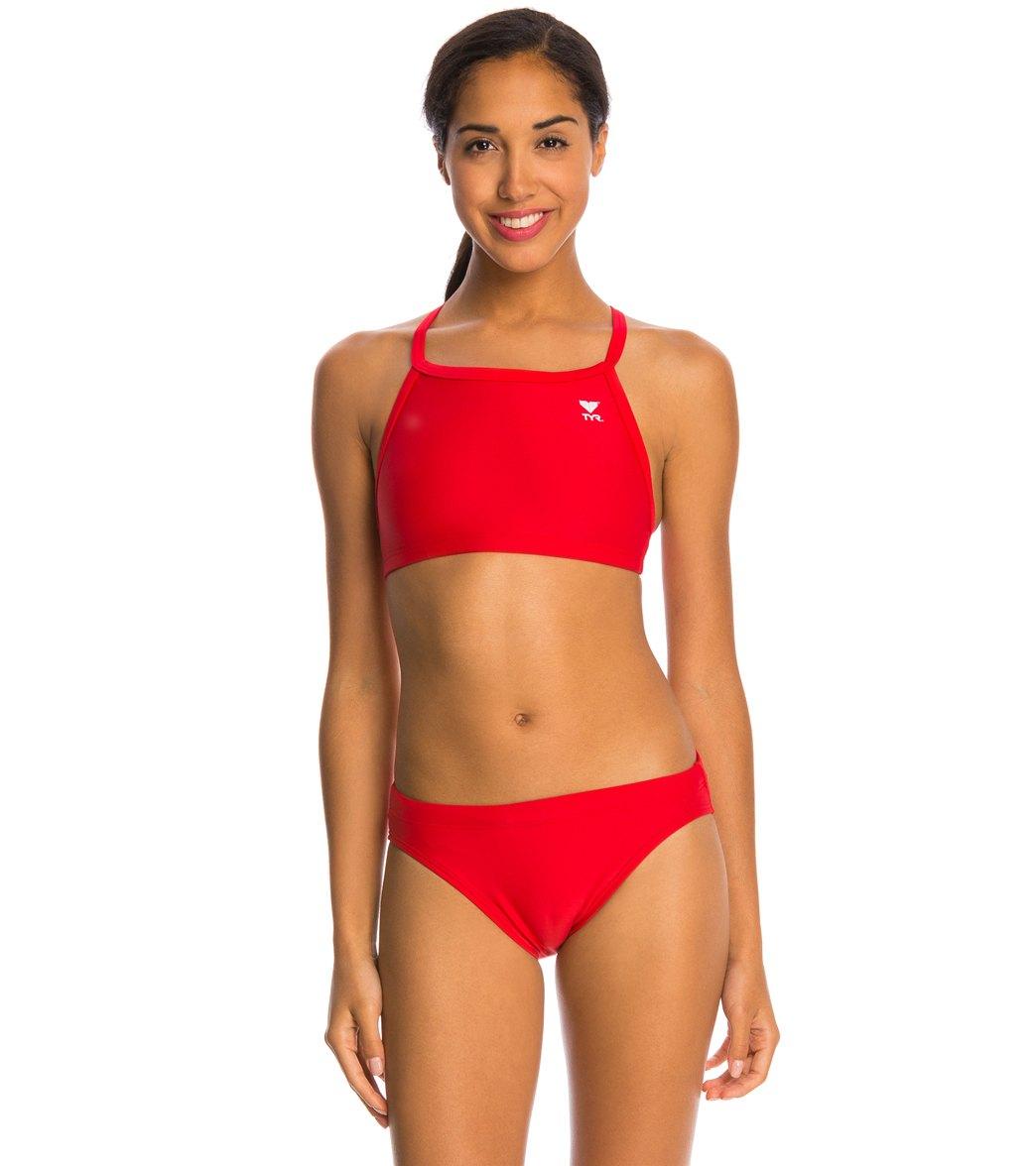 c040e9ab91 TYR TYRECO Solid Diamondfit Workout Bikini Swimsuit Set at SwimOutlet.com - Free  Shipping