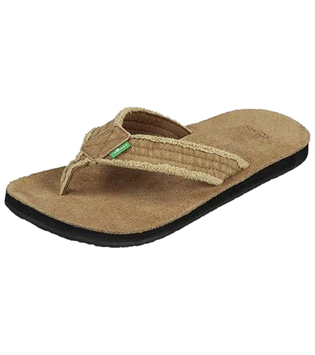 a92bc002849 Sanuk Men s Fraid Not Flip Flop at SwimOutlet.com