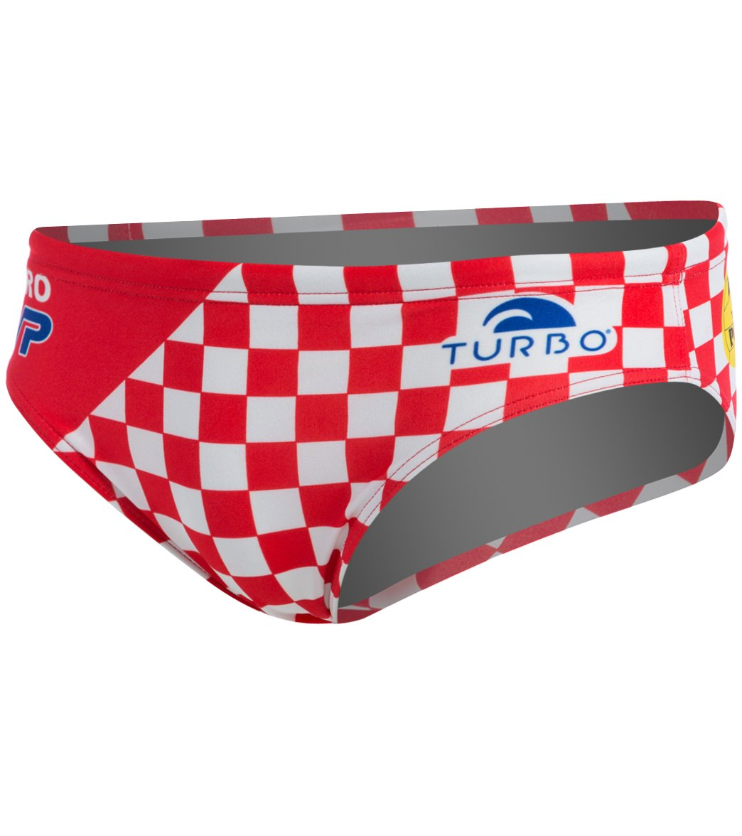 ebb39ae67a Turbo Croatia Official Water Polo Suit at SwimOutlet.com