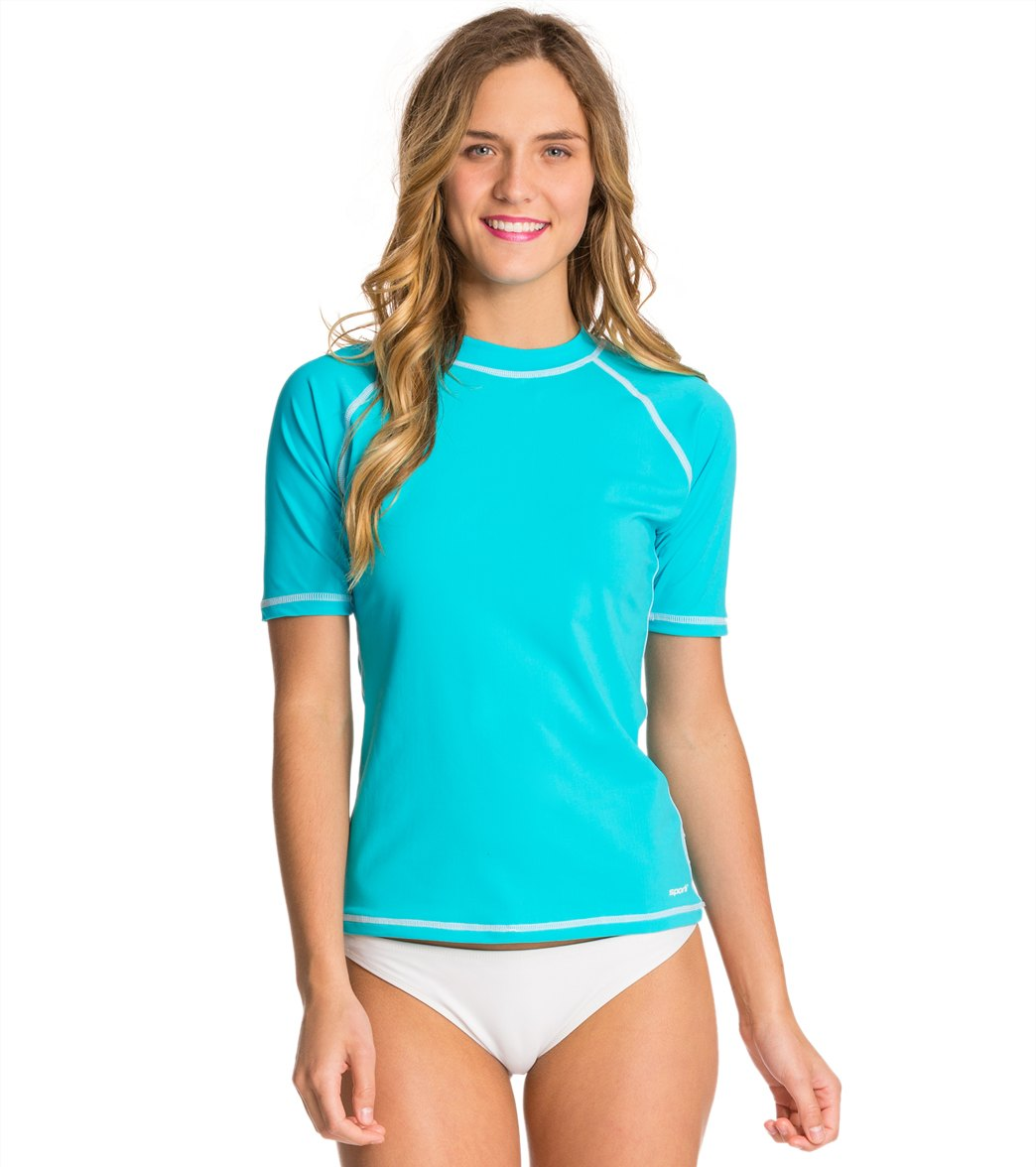 67250657454b6 Sporti Women's S/S UPF 50+ Swim Shirt at SwimOutlet.com