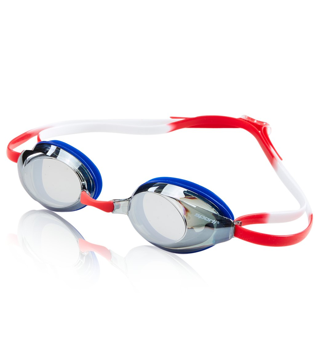 8389e0a792f Sporti Antifog S2 Mirrored Goggle at SwimOutlet.com