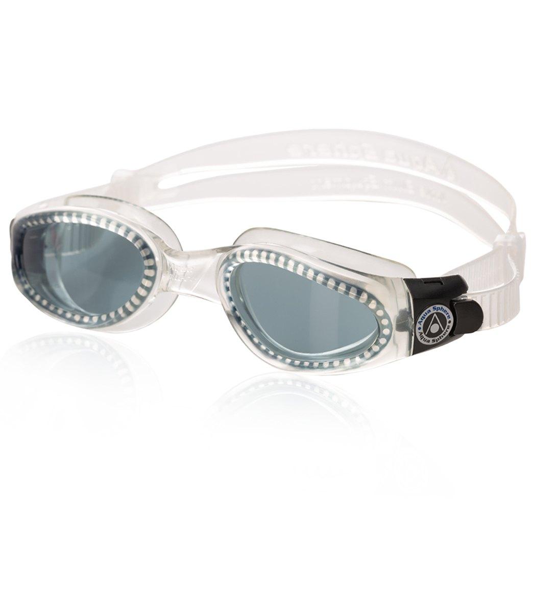 e45fb4b8806b Aqua Sphere Kaiman Goggle Smoke Lens at SwimOutlet.com