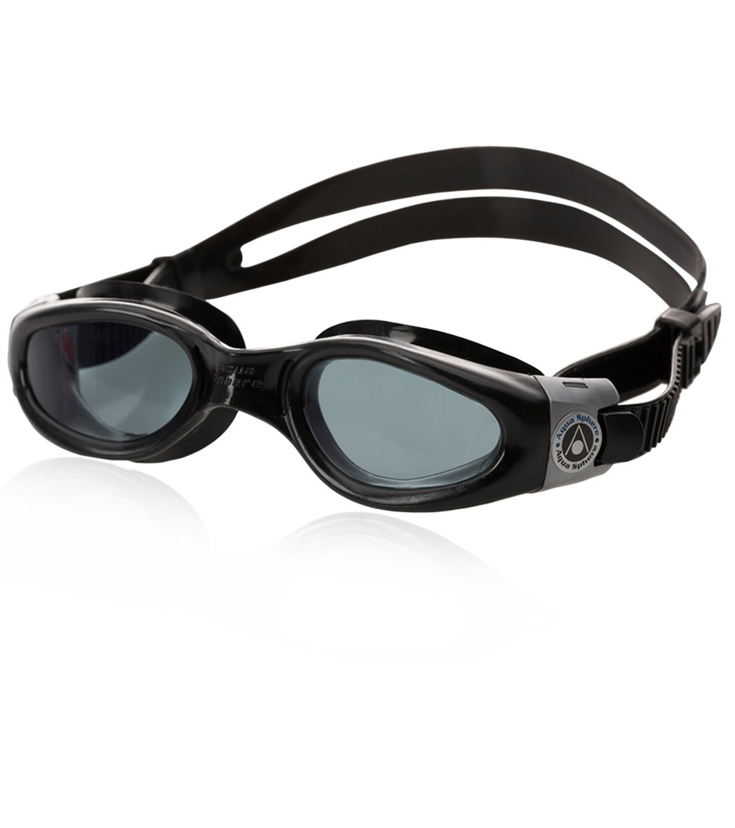 b978ee1ab65c Aqua Sphere Kaiman Goggle Small Fit Smoke Lens at SwimOutlet.com