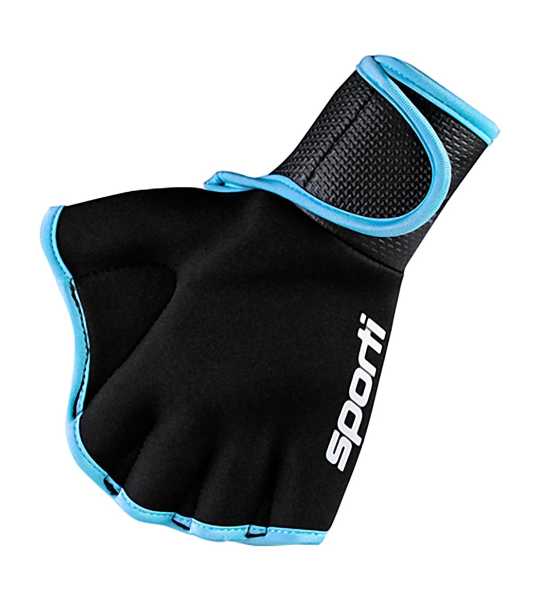 Fitness Gloves Com: Sporti Webbed Fitness Gloves At SwimOutlet.com