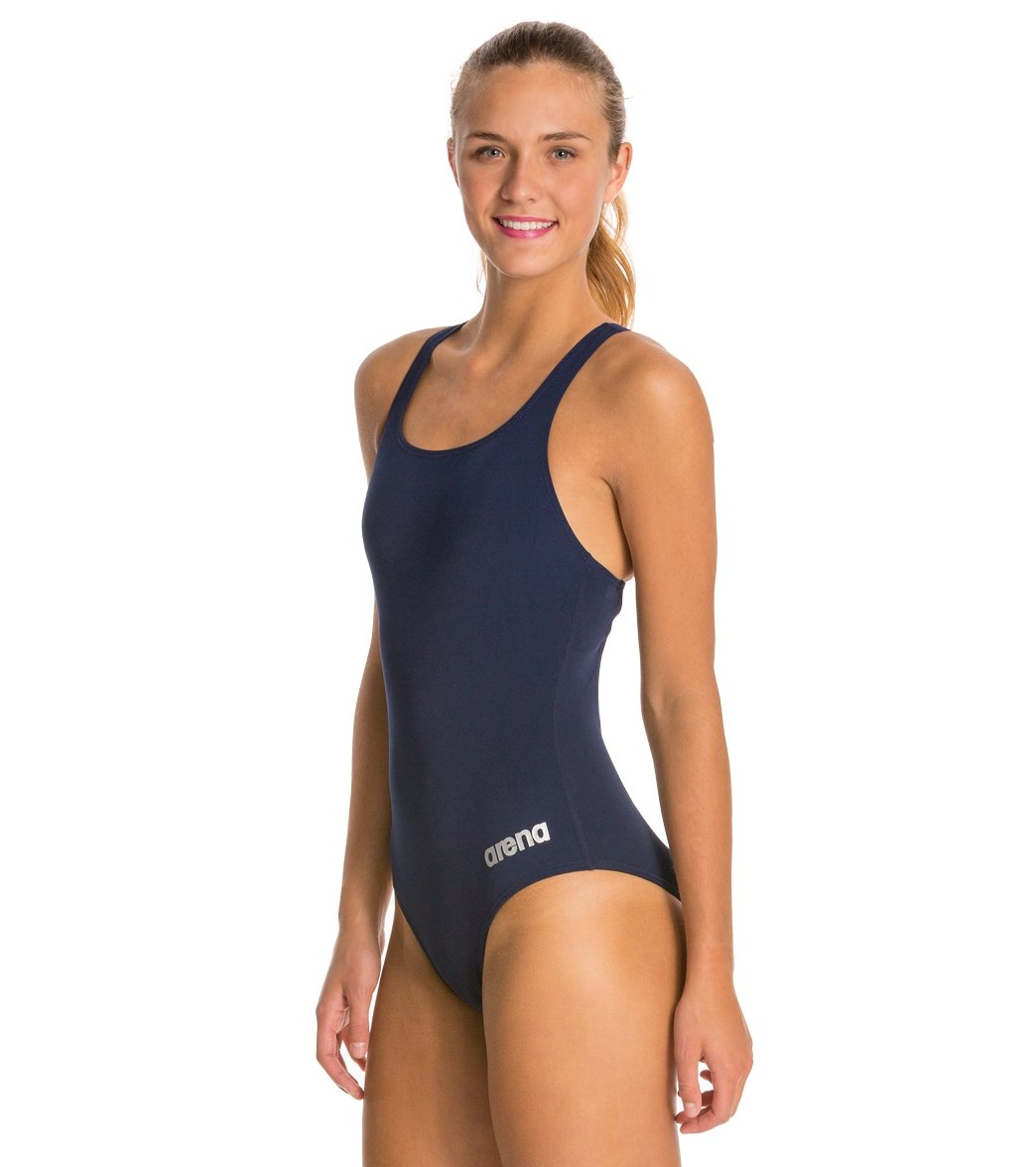 22f8196a87e Arena Madison MaxLife Athletic Thick Strap Racer Back One Piece Swimsuit