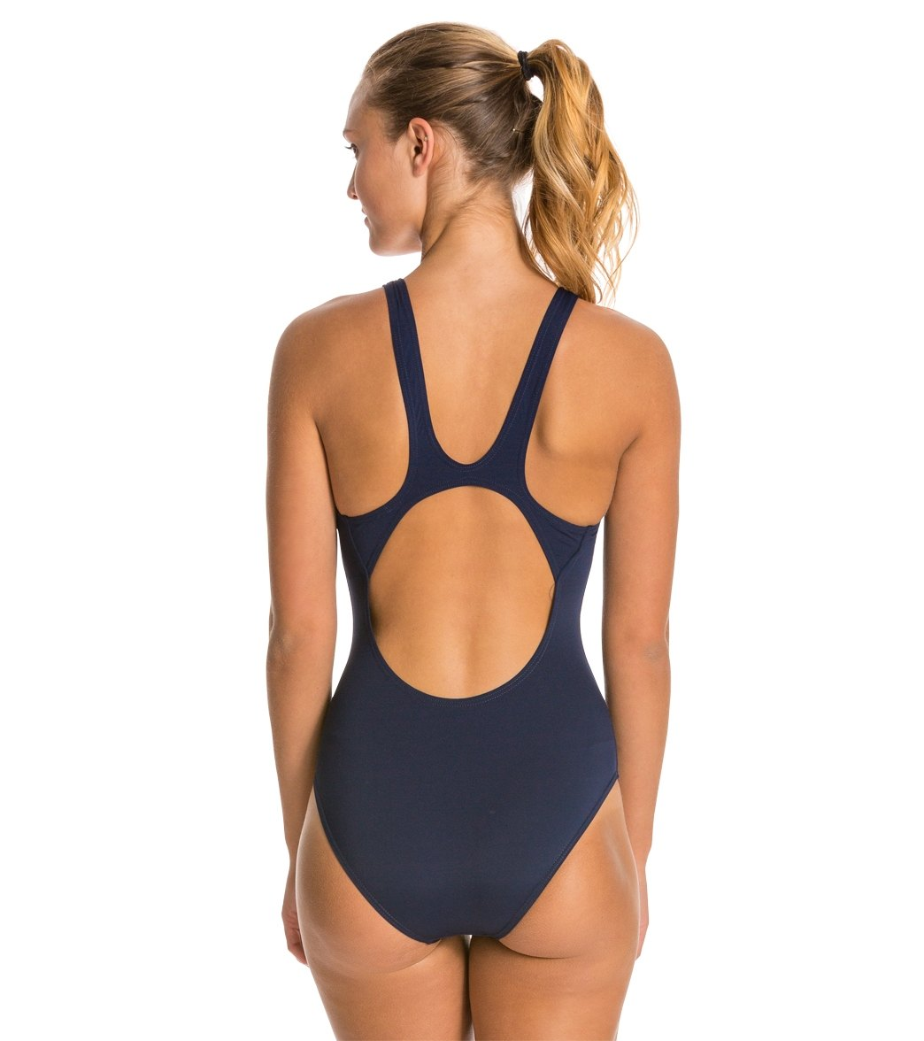 0244110b8c64d Arena Madison MaxLife Athletic Thick Strap Racer Back One Piece Swimsuit