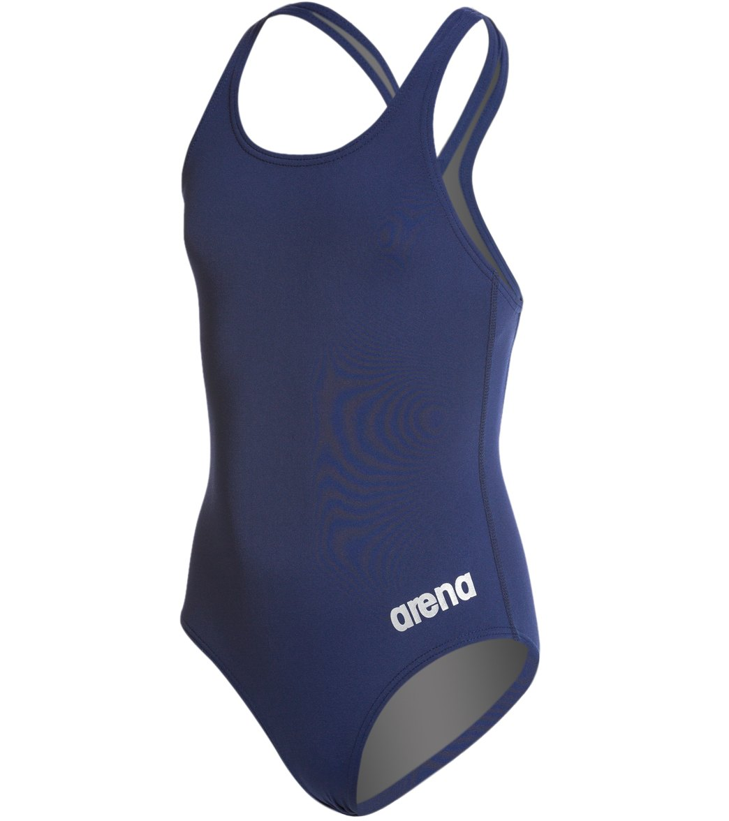 c07f0deffca Arena Girls' Madison Athletic Thick Strap Racer Back One Piece Swimsuit at  SwimOutlet.com - Free Shipping