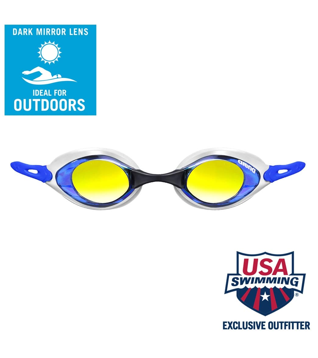 71e28d12b6c2 Arena Cobra Mirror Goggle at SwimOutlet.com - Free Shipping