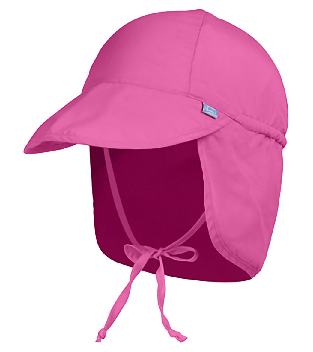 iPlay Solid Flap Sun Protection Hat (3mos-4yrs) at SwimOutlet.com a44170614fb