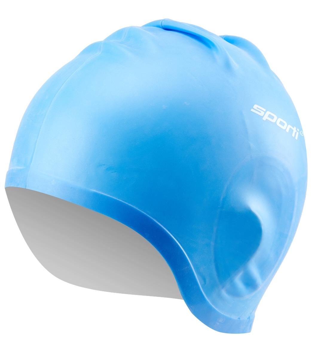 4a118972cedba Sporti Silicone Ear Swim Cap at SwimOutlet.com