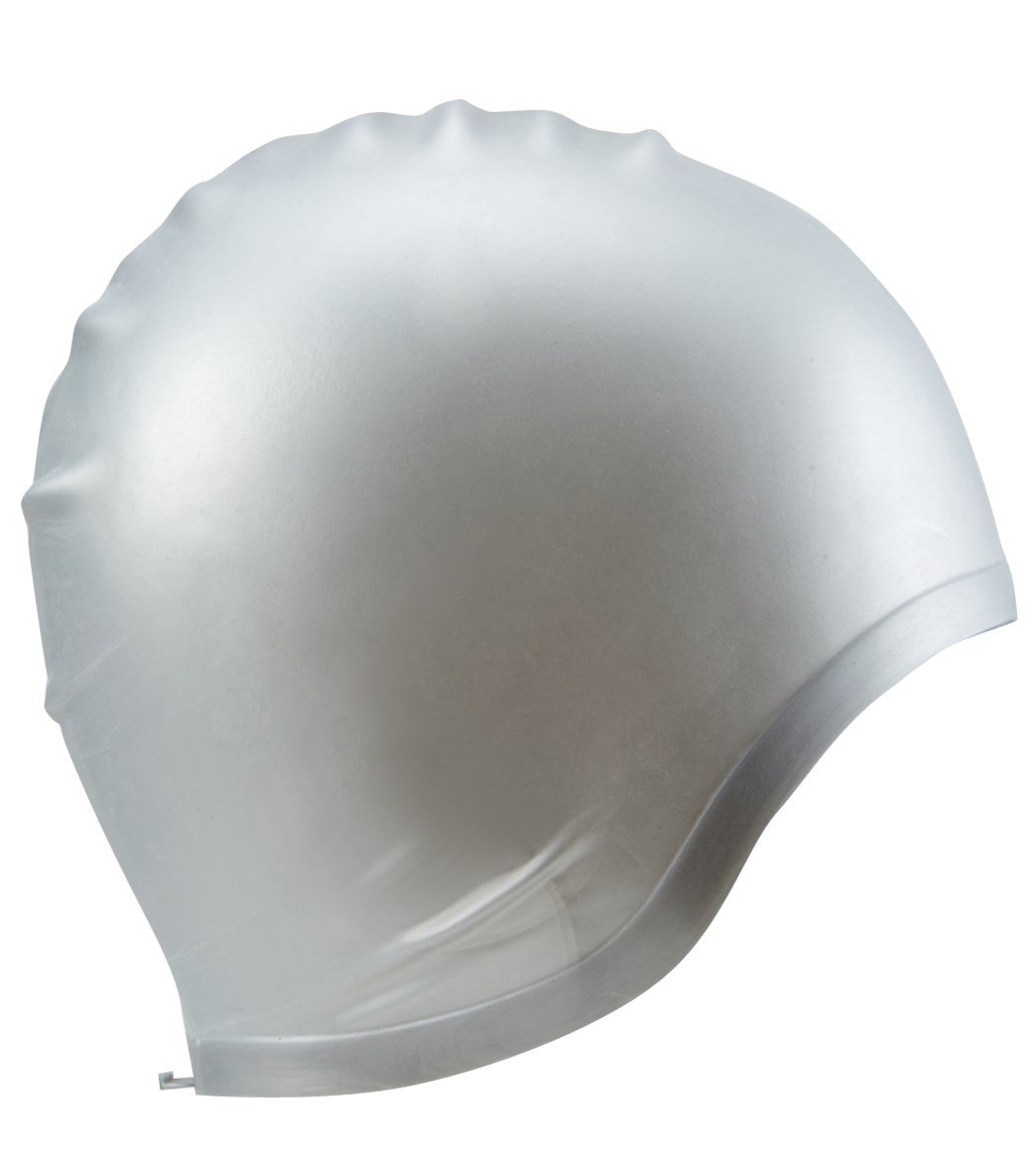 56943ffcbb3c8b Sporti Silicone Ear Swim Cap at SwimOutlet.com