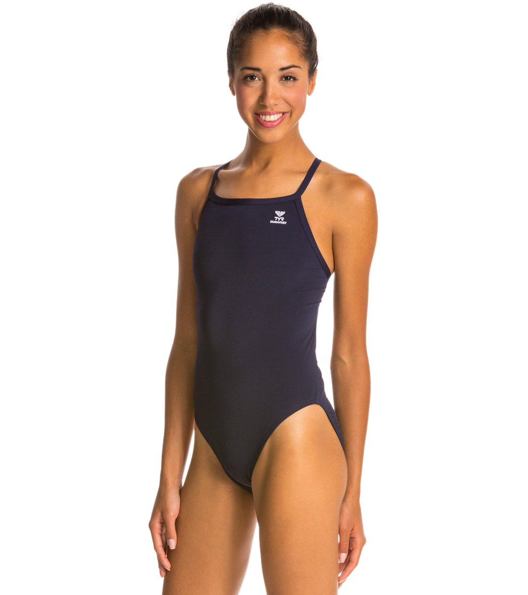 7b4b610196848 TYR Durafast Solid Diamondfit One Piece Swimsuit at SwimOutlet.com ...