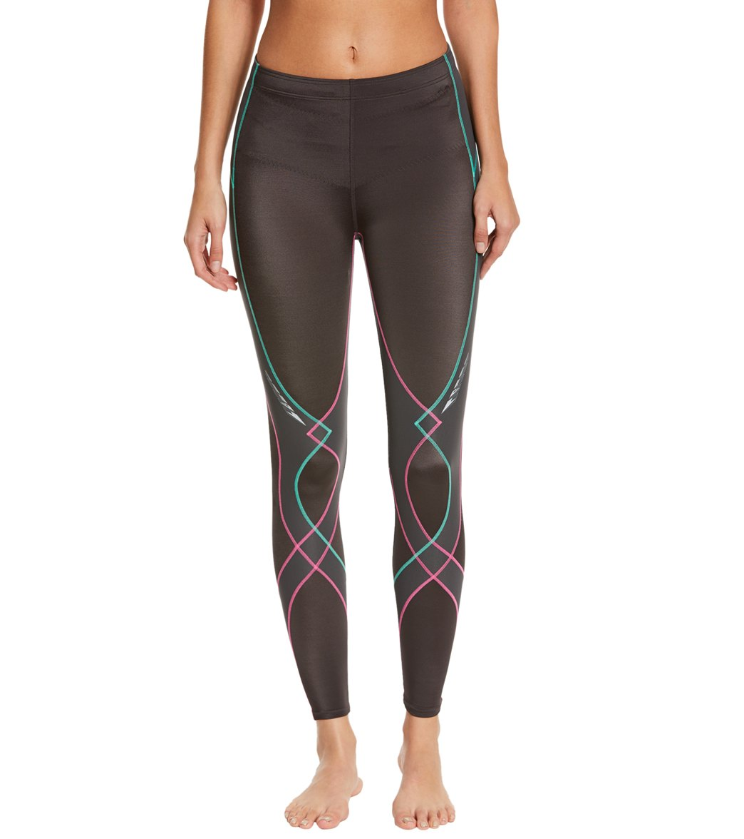 CW-X Women s Stabilyx Compression Running Tights at SwimOutlet.com - Free  Shipping 99d2ecc35438f