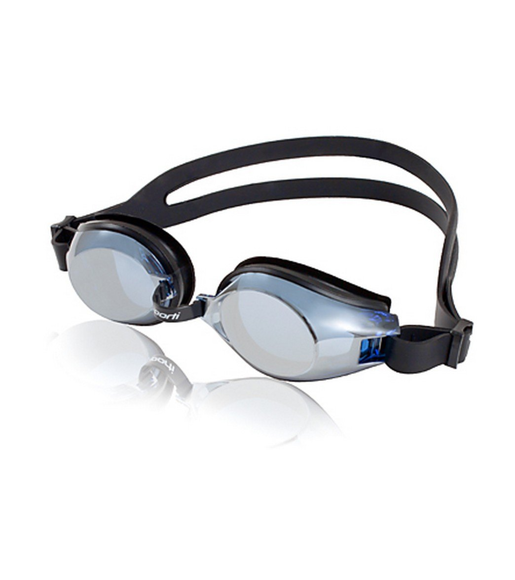 c37dcef5c87 Sporti Antifog Plus Mirrored Goggle at SwimOutlet.com
