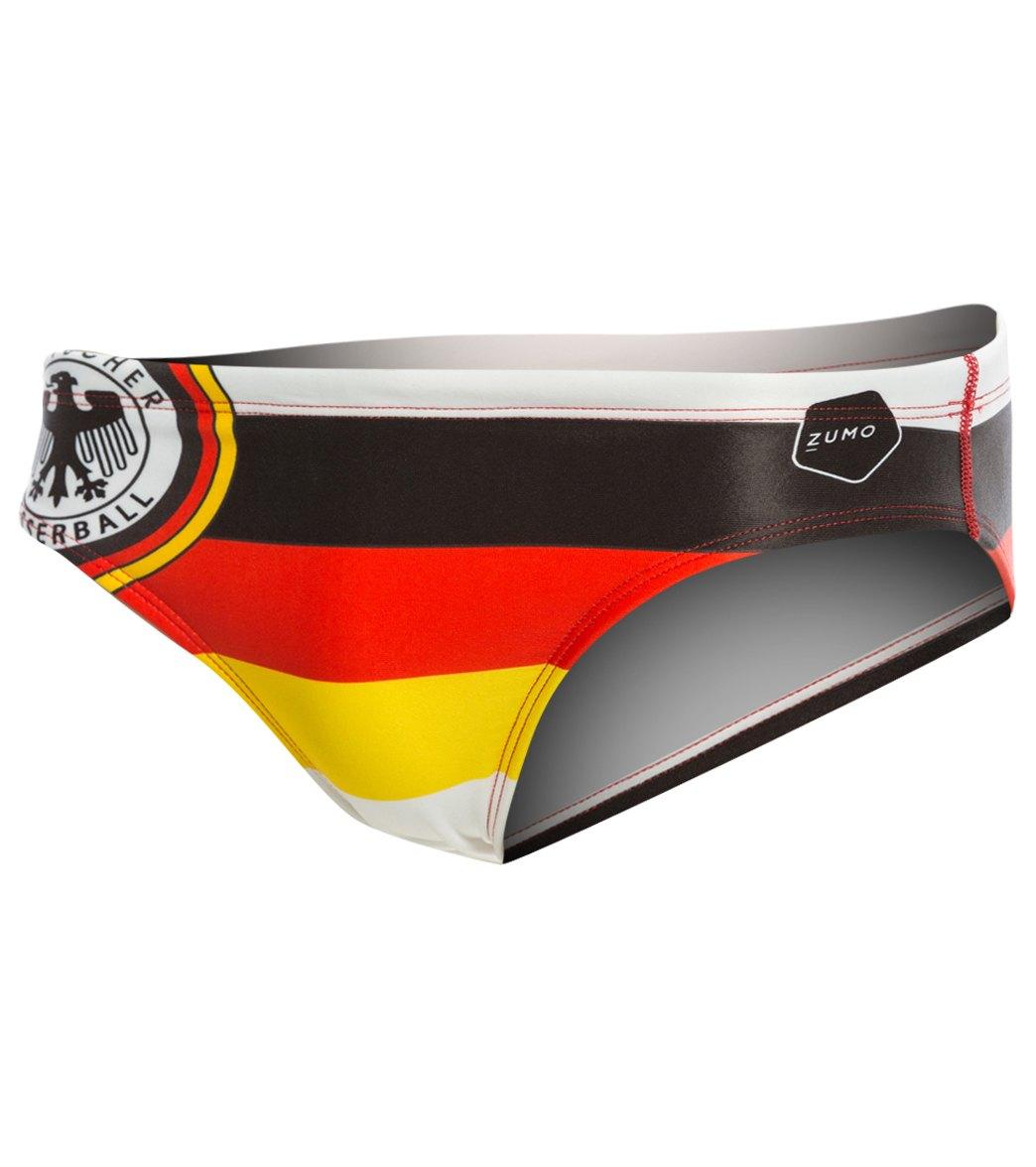 f9875fc665 Zumo Germany Water Polo Brief at SwimOutlet.com