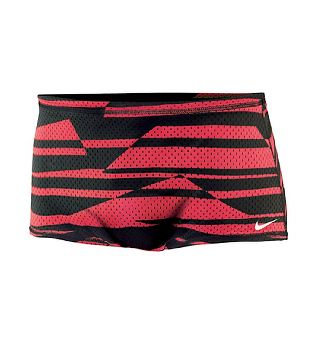 11f32570114 Nike Swim Shadow Stripe Reversible Mesh Drag Short at SwimOutlet.com