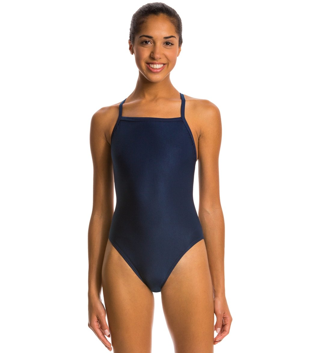 dbc9a0fe8a Waterpro Poly Female Training Swimsuit at SwimOutlet.com