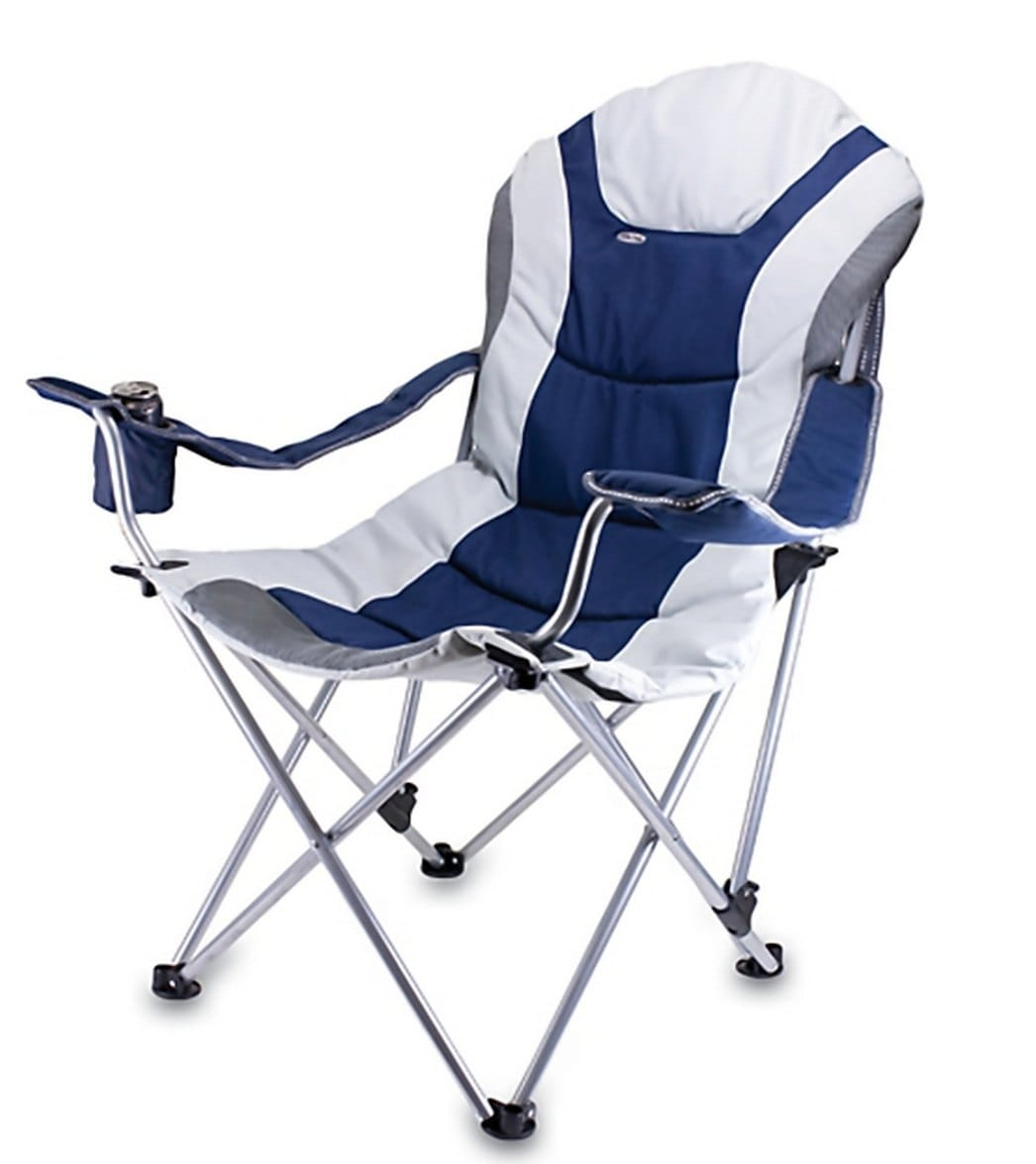 Picnic Time Reclining Camp U0026 Beach Chair At SwimOutlet.com   Free Shipping