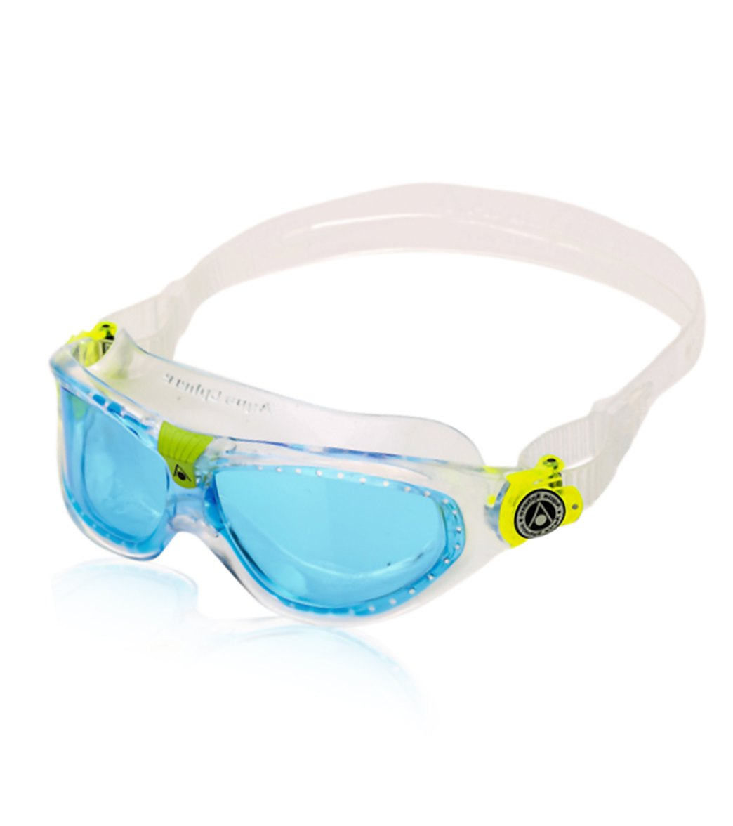 561ecbc1294e Aqua Sphere Seal Kid s Blue Lens Goggle at SwimOutlet.com