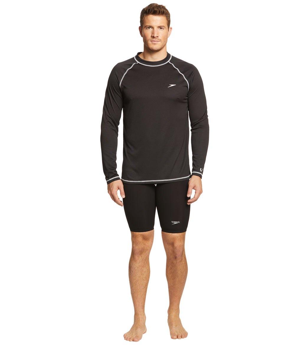 8b25e83d9d28c Speedo Men's Easy Long Sleeve Swim Shirt at SwimOutlet.com