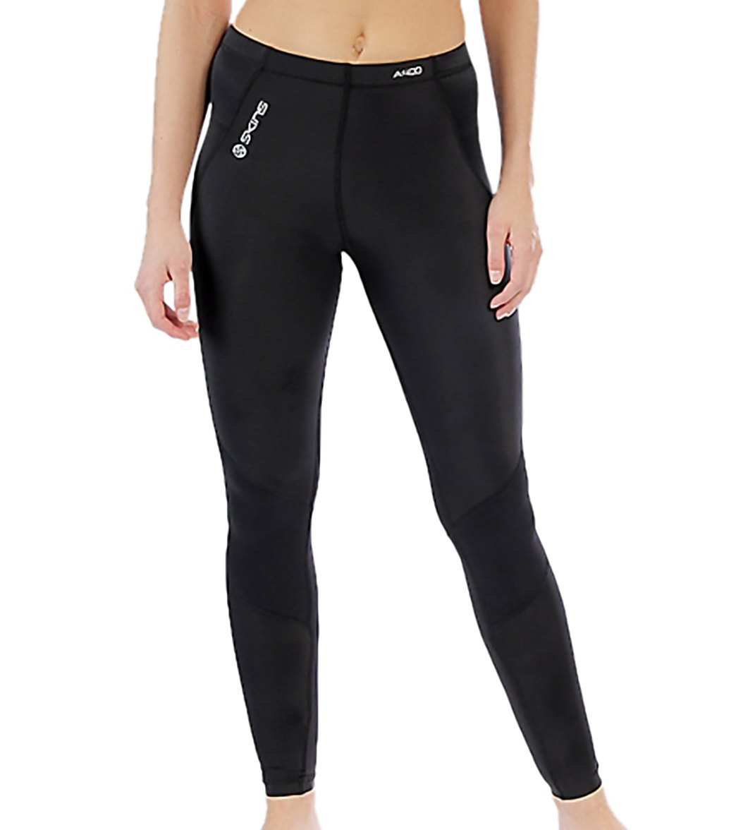 896977cded9ee SKINS Women s A400 Compression Long Tights at SwimOutlet.com - Free Shipping