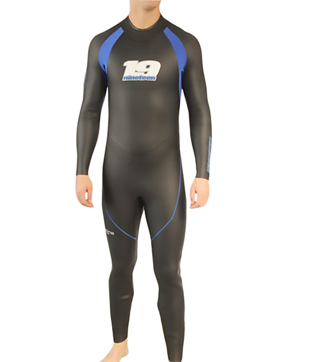 4b220f0340 Nineteen Men s Pipeline Fullsleeve Triathlon Wetsuit at SwimOutlet.com -  Free Shipping