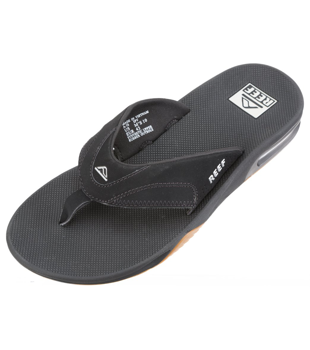 623d379f7cf91 Reef Men s Fanning Flip Flop at SwimOutlet.com - Free Shipping