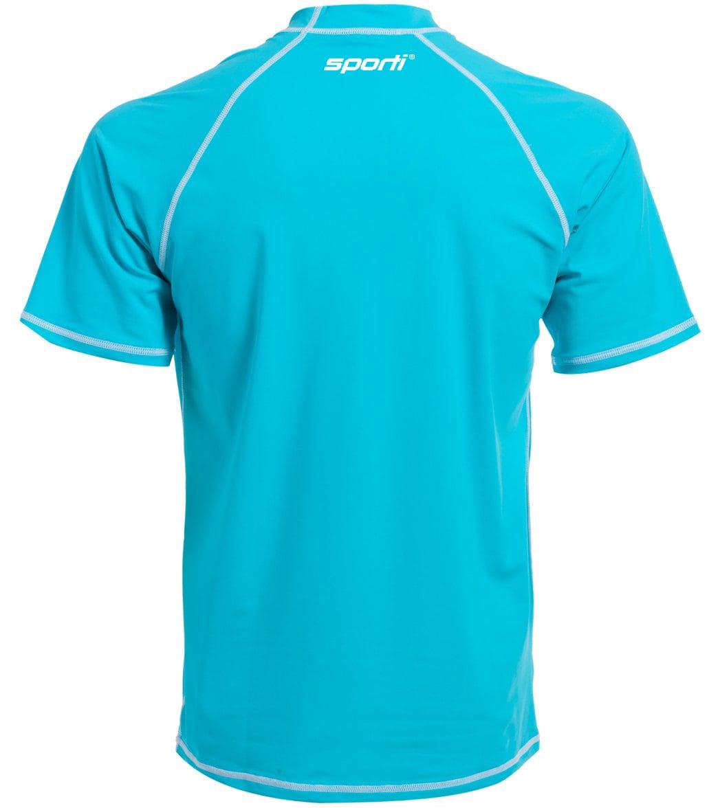 Sporti Men s S S UPF 50+ Swim Shirt at SwimOutlet.com aac999242