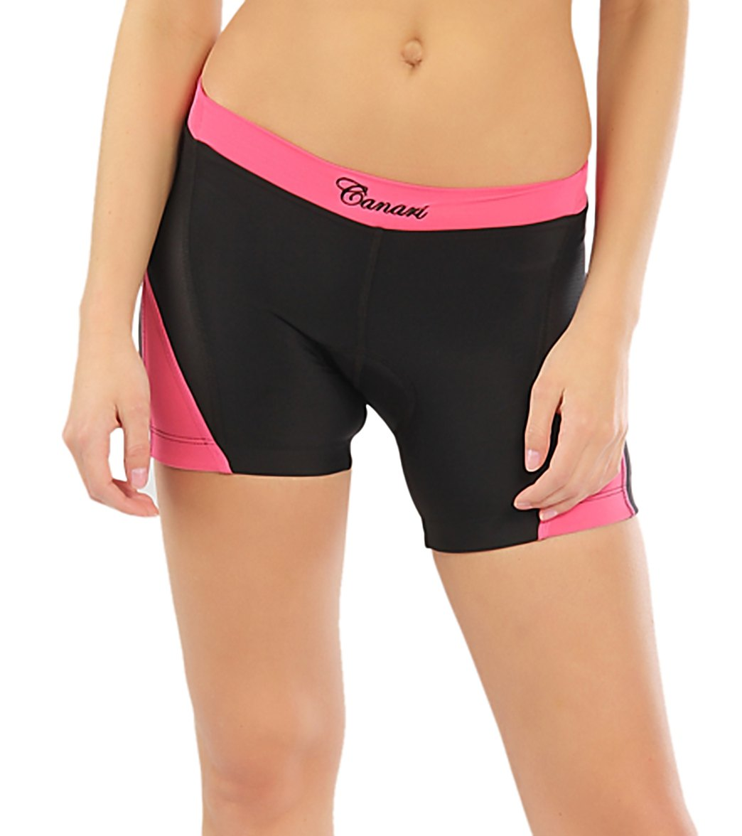 Canari Women s Hybrid Extra Cycling Shorts at SwimOutlet.com - Free ... 5d512a82b