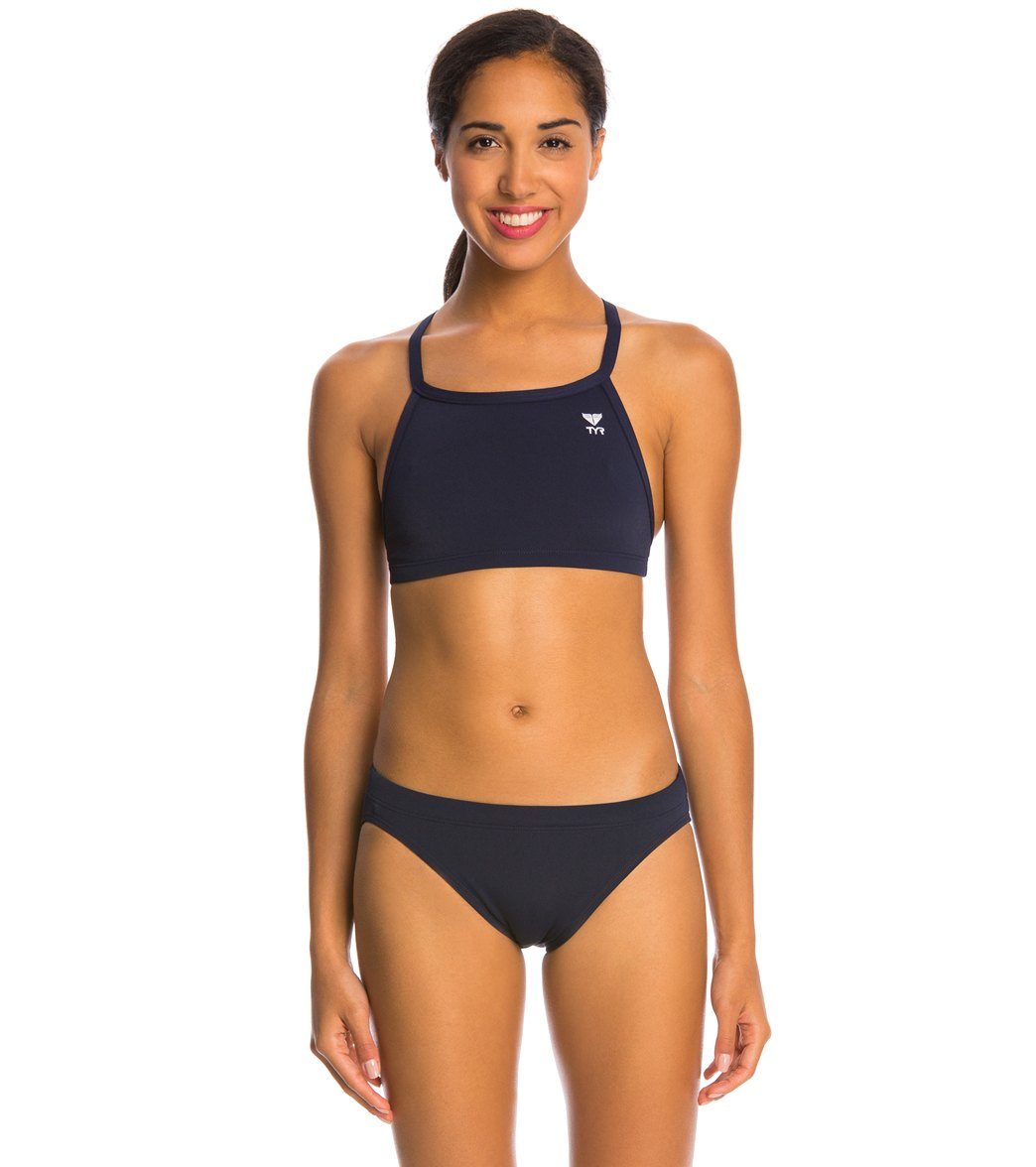 57a8ecc5fdbfc TYR Solid Durafast One Diamondback Workout Bikini Swimsuit Set at  SwimOutlet.com - Free Shipping