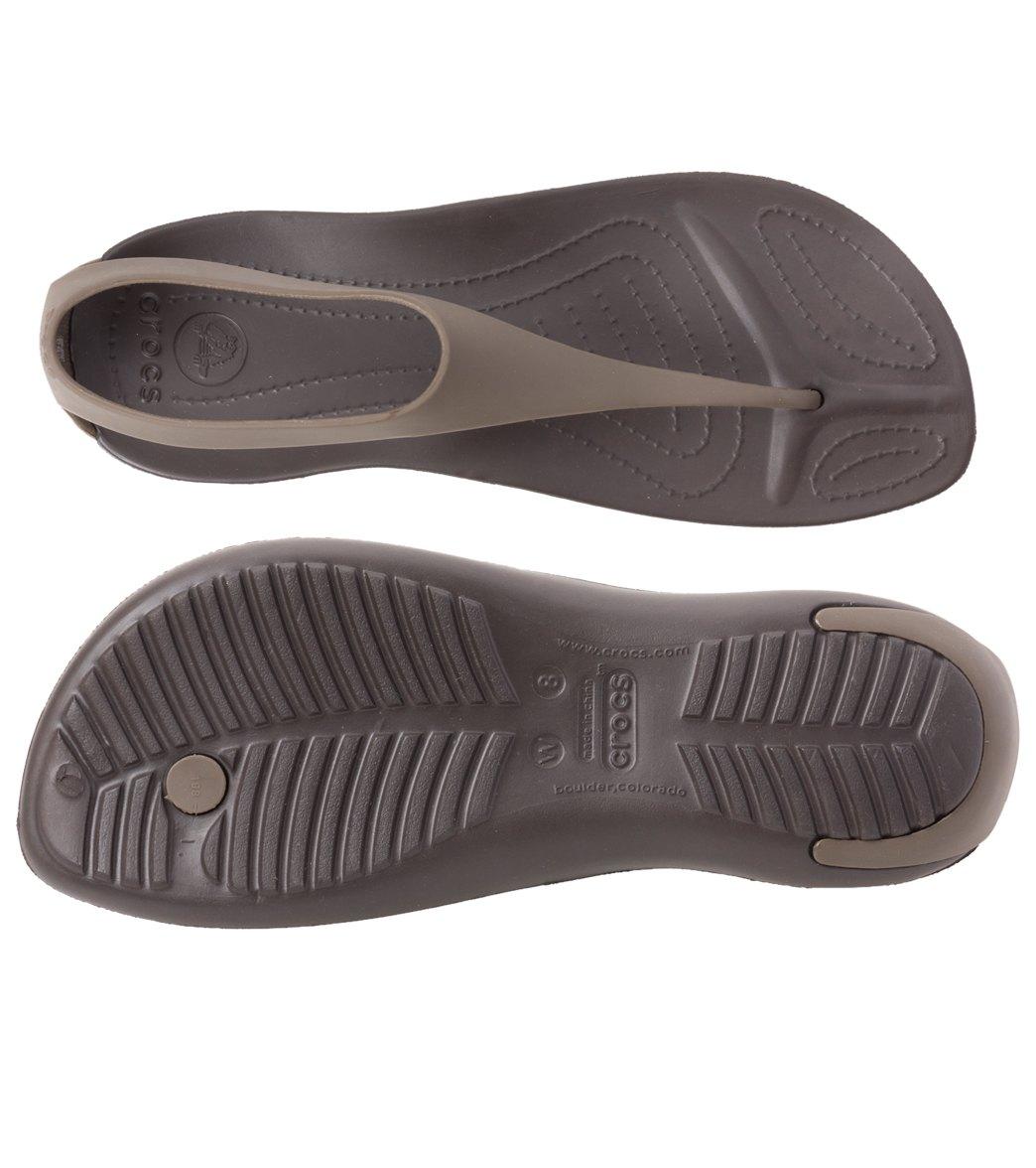 842e6b0f78b9e3 Crocs Women s Sexi Flip Sandal at SwimOutlet.com
