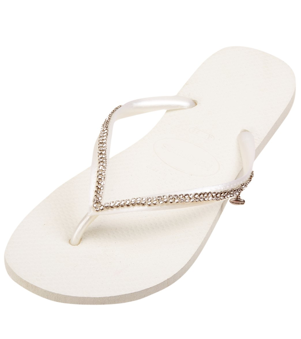 7e9ded8ec7f937 Havaianas Women s Special Collection Slim Crystal Mesh Sandal at  SwimOutlet.com - Free Shipping