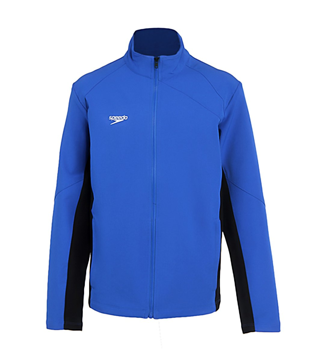731c001bcbf Speedo Youth Boom Force Warm Up Jacket at SwimOutlet.com - Free ...