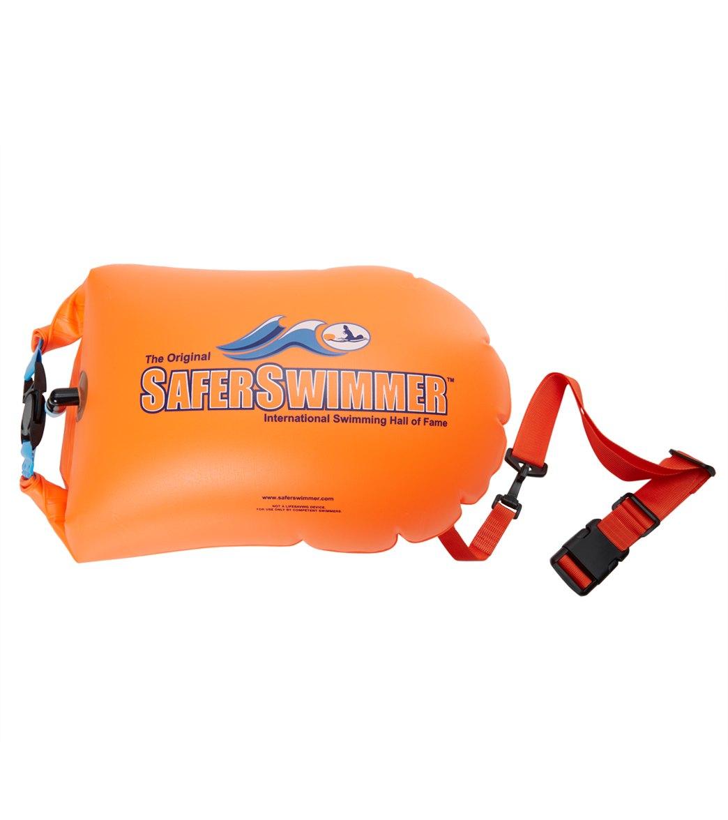 "The ISHOF SaferSwimmer FLOAT Swim Buoy 25""x12"""
