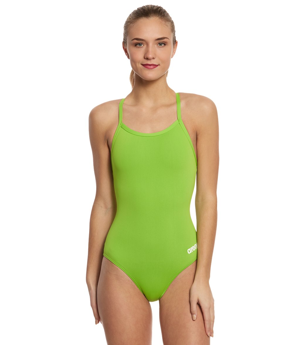 d9aa36290e481 Arena Master MaxLife Sporty Thin Strap Racer Back One Piece Swimsuit at  SwimOutlet.com - Free Shipping