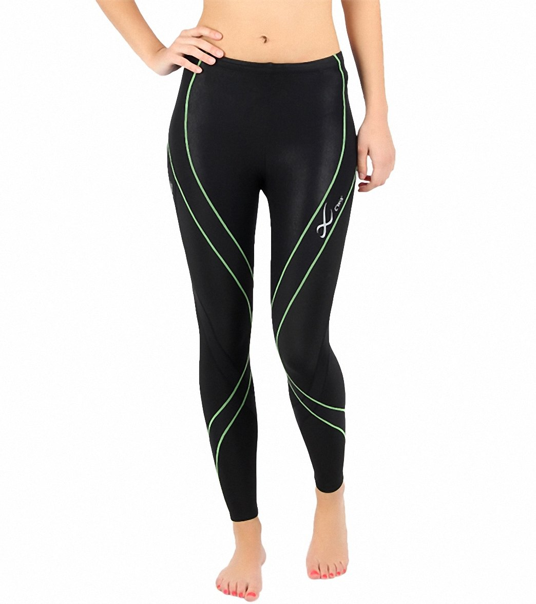 611fbc6d7a CW-X Women's Insulator Endurance Pro Running Tights at SwimOutlet.com -  Free Shipping