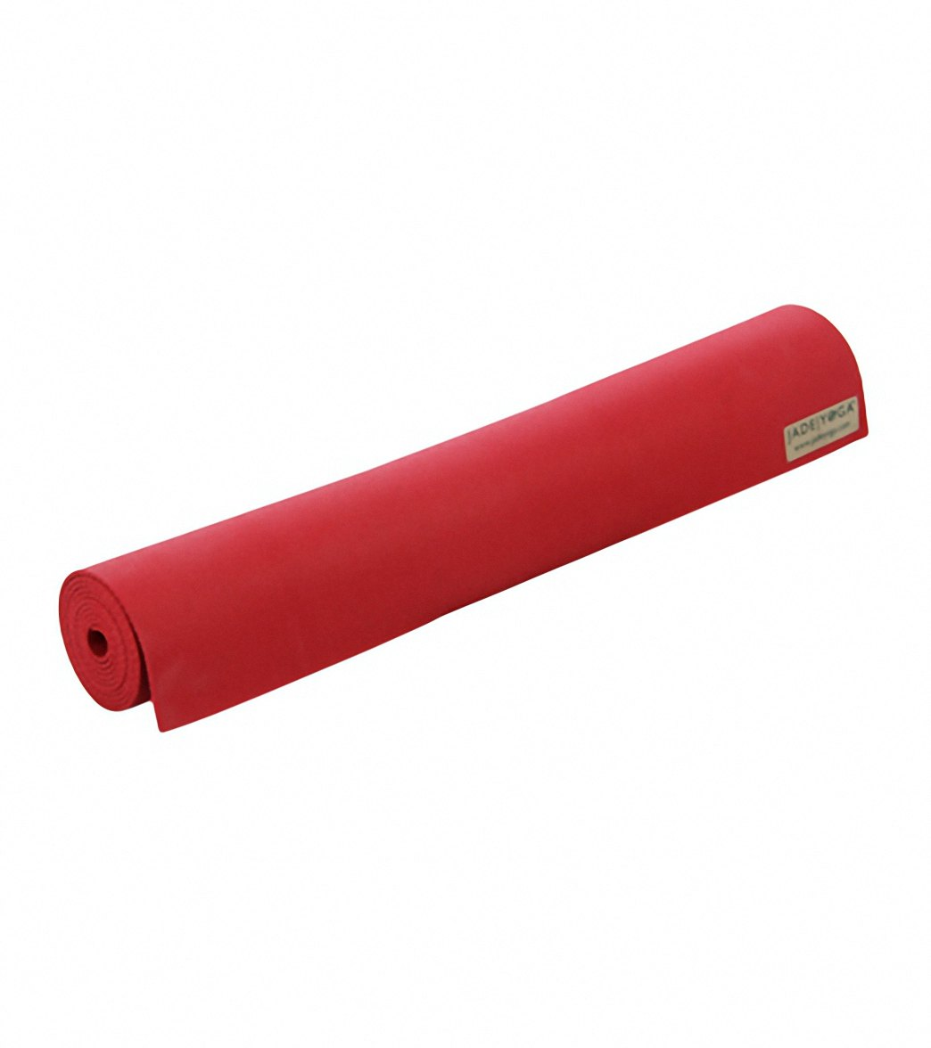 Jade Yoga Travel Long Natural Rubber Yoga Mat 74 Quot 3mm At