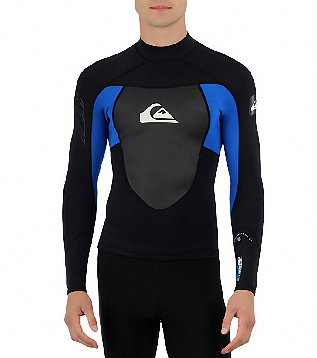 Quiksilver Syncro Long Sleeve Wetsuit Jacket 1.5 MM at SwimOutlet.com -  Free Shipping 05f8c40b6