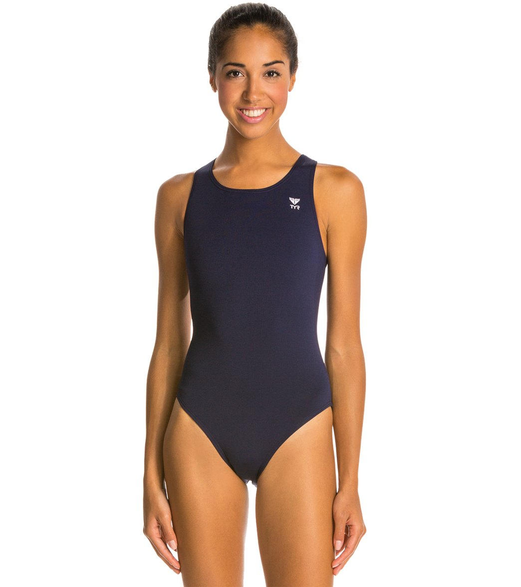 TYR Durafast Elite Solid Maxfit One Piece Swimsuit at SwimOutlet.com - Free  Shipping 6d3b9e0cd
