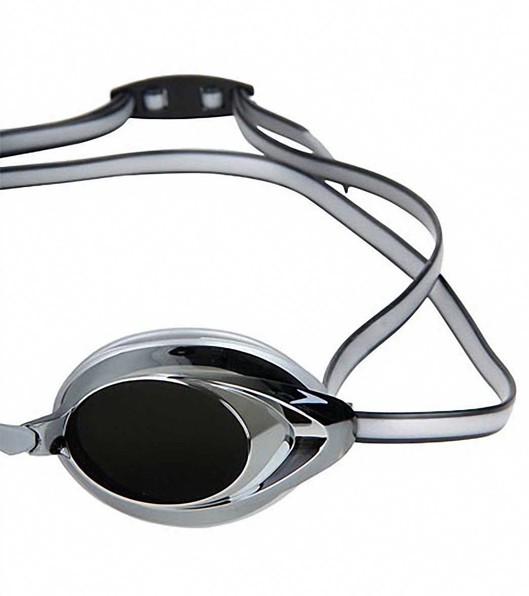 6897070eac Speedo Jr. Vanquisher 2.0 Mirrored Goggle at SwimOutlet.com