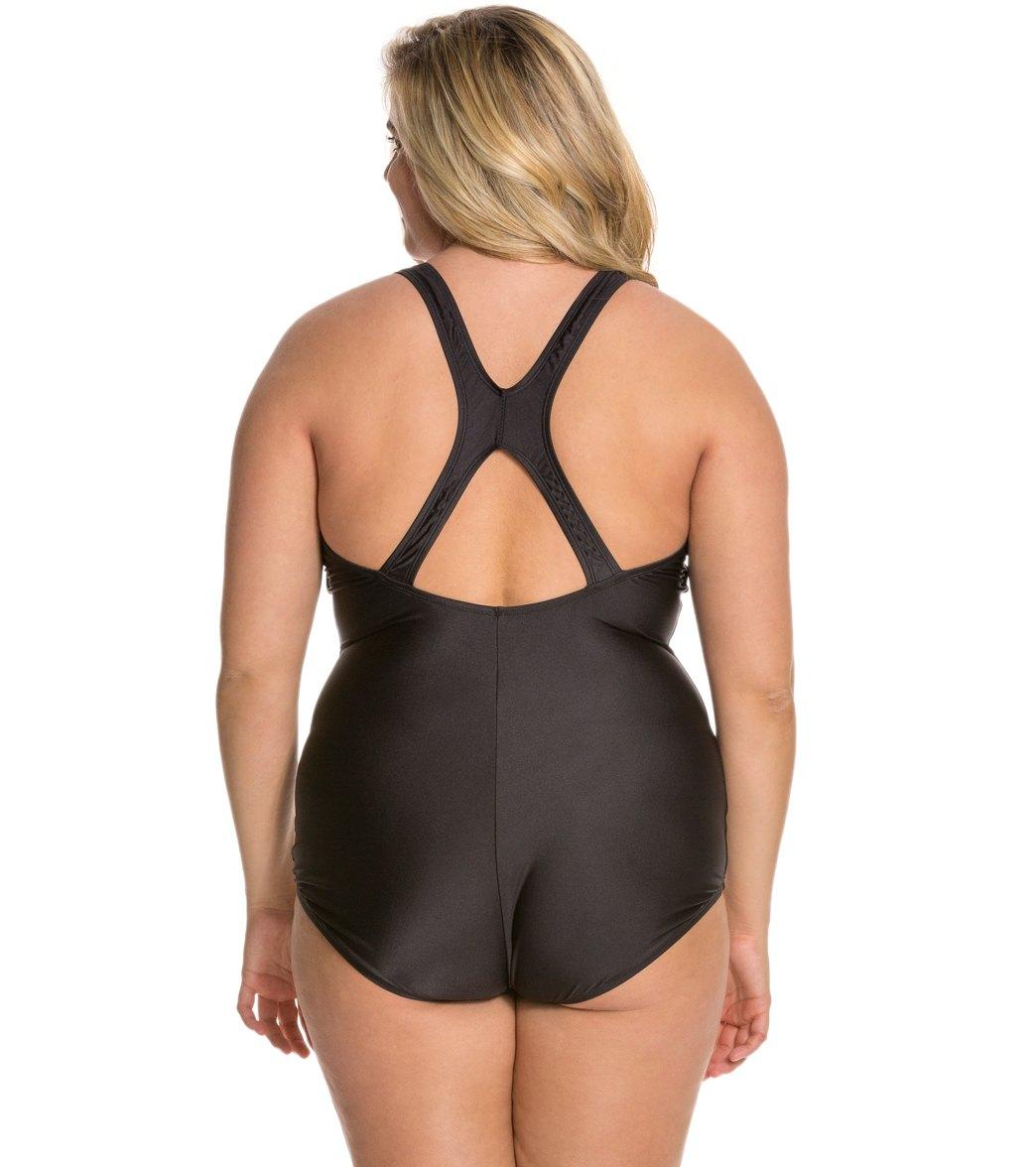 5e29d7fd8e Speedo Conservative Ultraback Plus Size Chlorine Resistant One Piece  Swimsuit