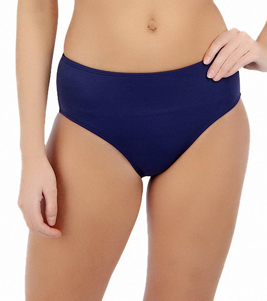 9be67d60de298 South Point Solid High Tide High Waist Bikini Bottom at SwimOutlet.com