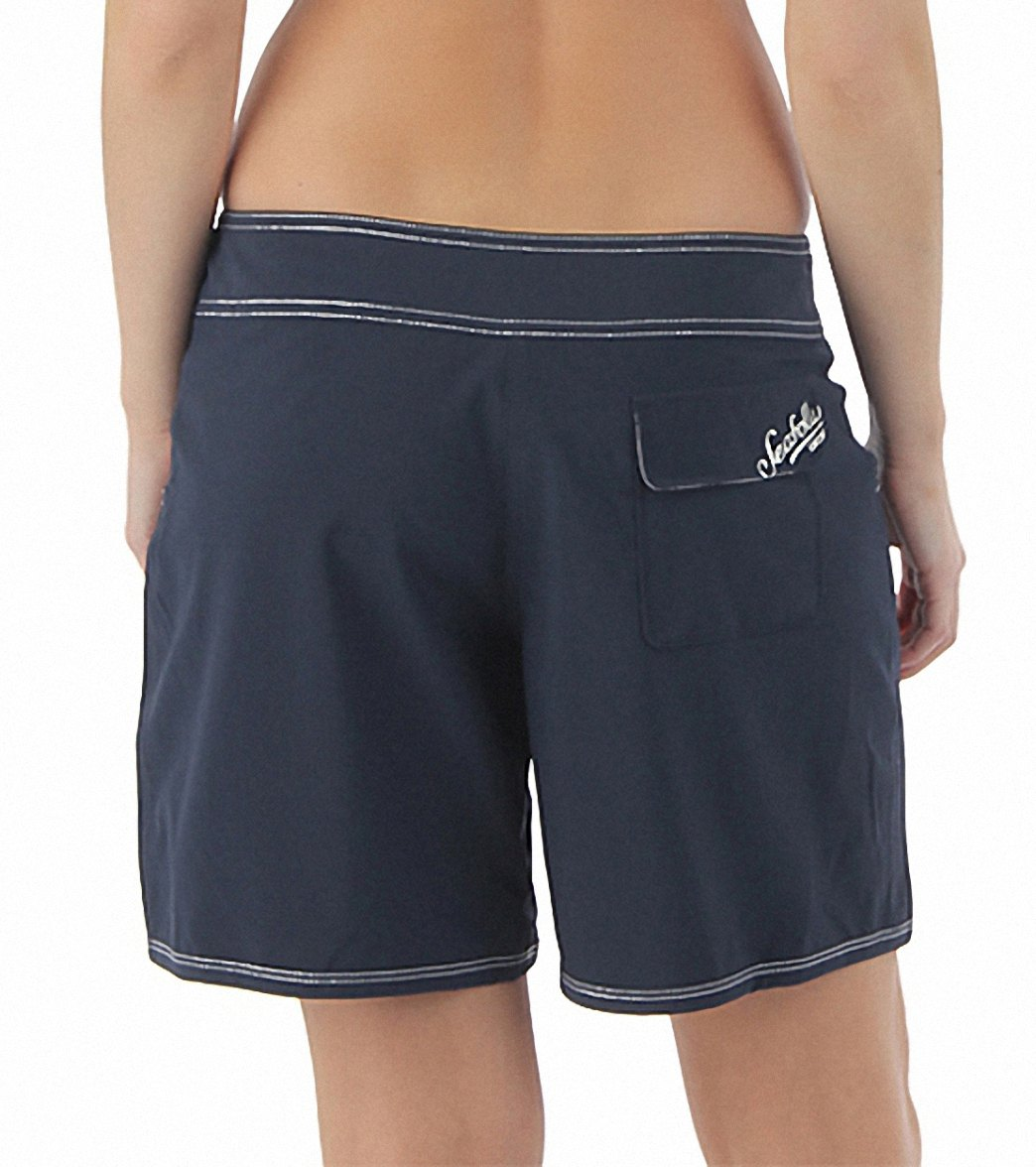 700de40183 Seafolly Women's Barracuda Mid Length Boardshort at SwimOutlet.com ...