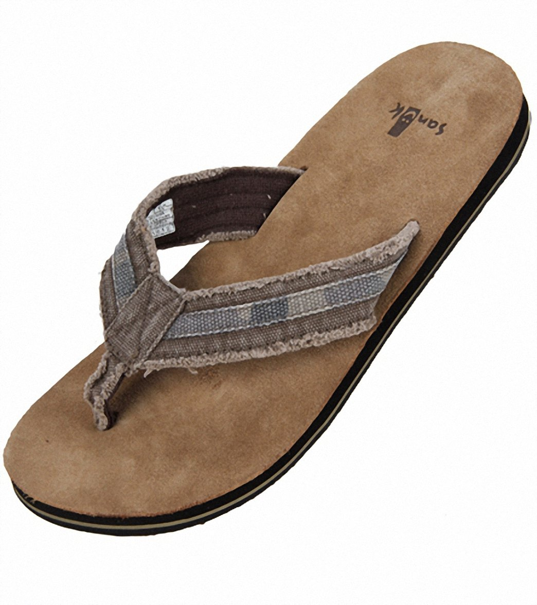 bf3e7ab5cb8 Sanuk Men s Fraid So Flip Flop at SwimOutlet.com
