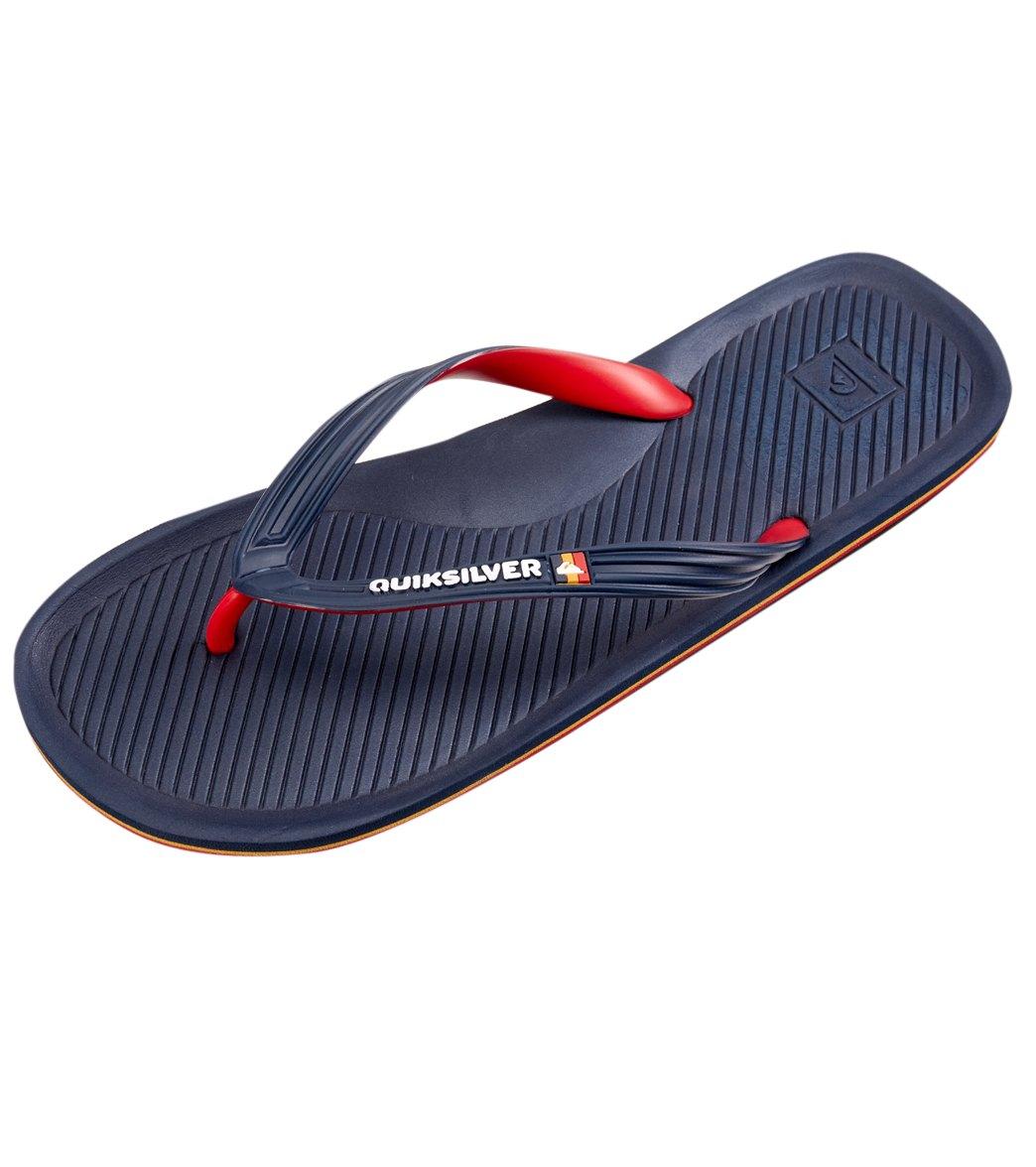 9fcb2975b Quiksilver Men s Haleiwa Flip Flop at SwimOutlet.com