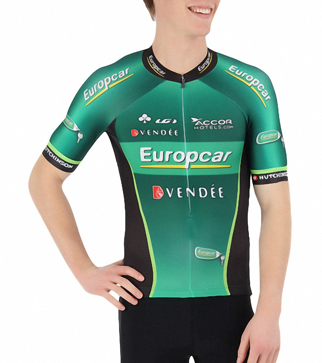 Louis Garneau Men S Original Europcar Team Cycling Jersey At