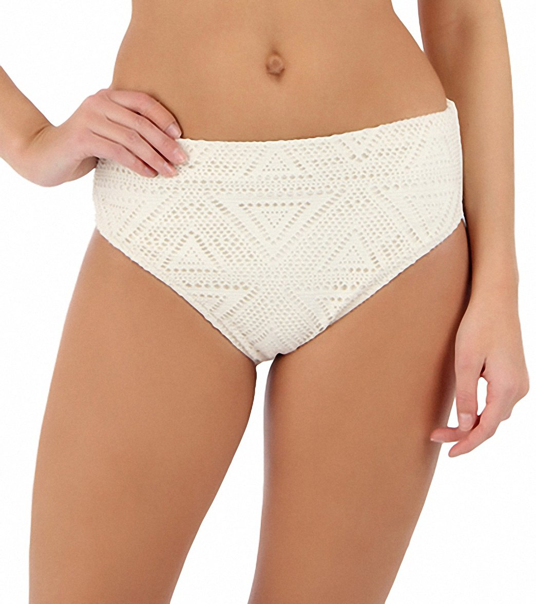 b4e93ab9114e6 Sunsets Swimwear White Chocolate Seamless High Waist Bikini ...