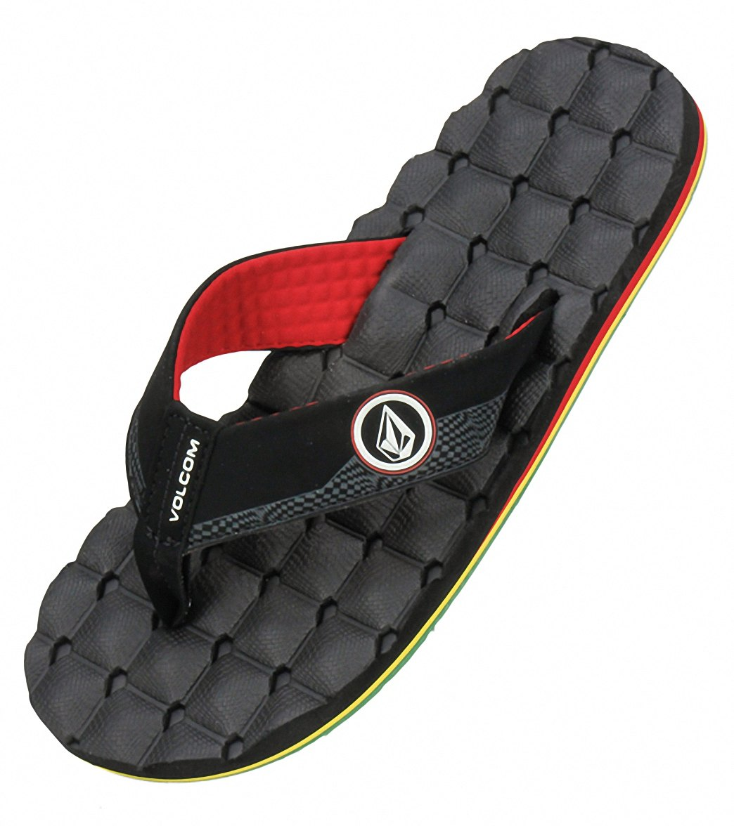 adc76ba92d55dd Volcom Men s Recliner Flip Flop at SwimOutlet.com