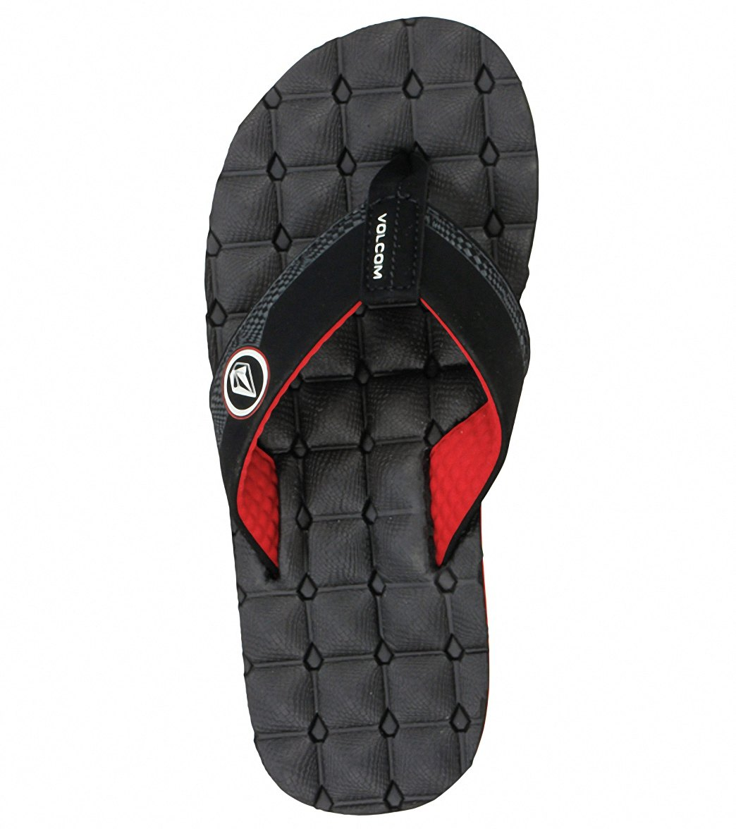 9bfd239434f10 Volcom Men s Recliner Flip Flop at SwimOutlet.com