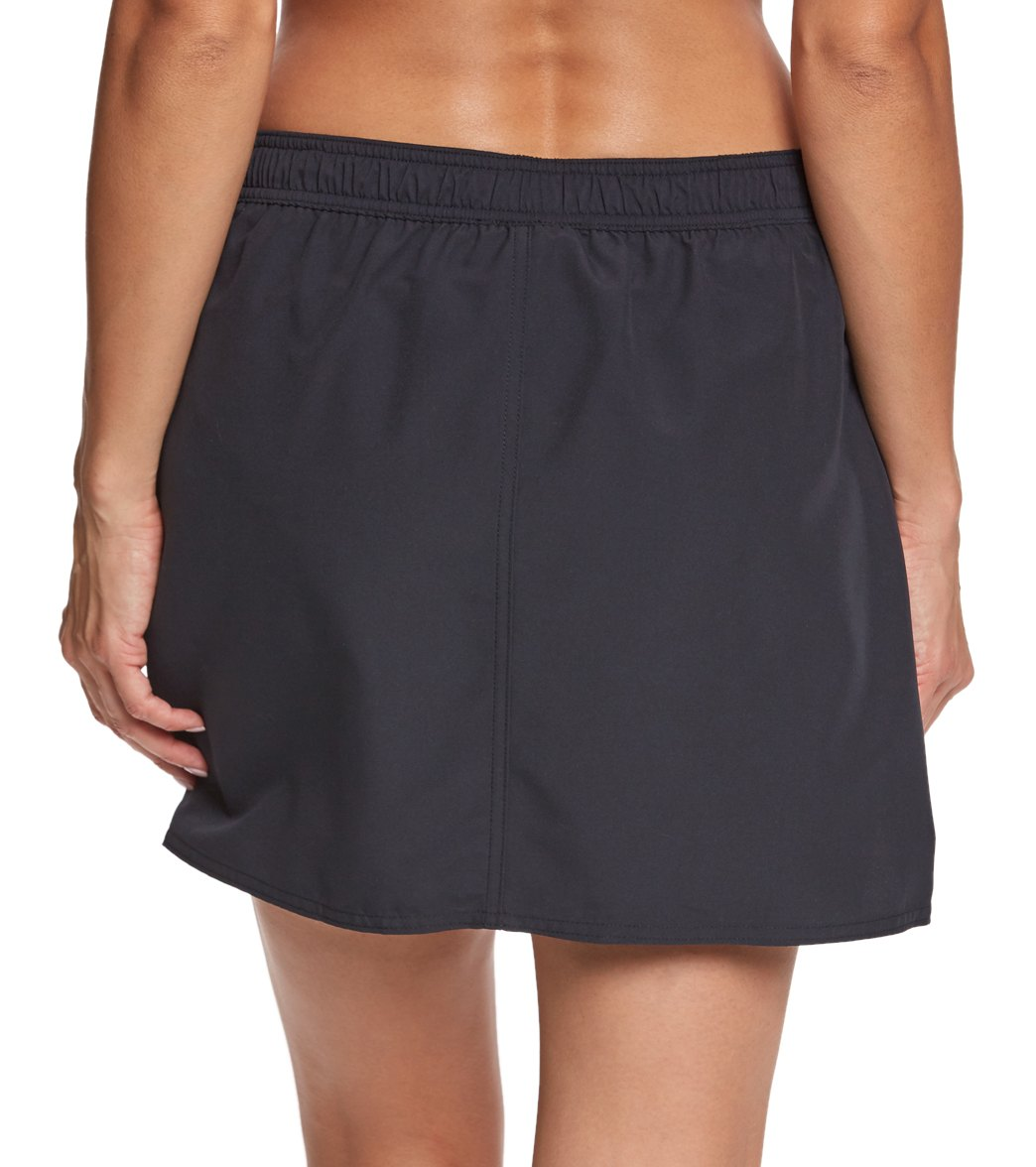 4c9b6638202 Maxine Women's Solid Woven Boardskirt at SwimOutlet.com